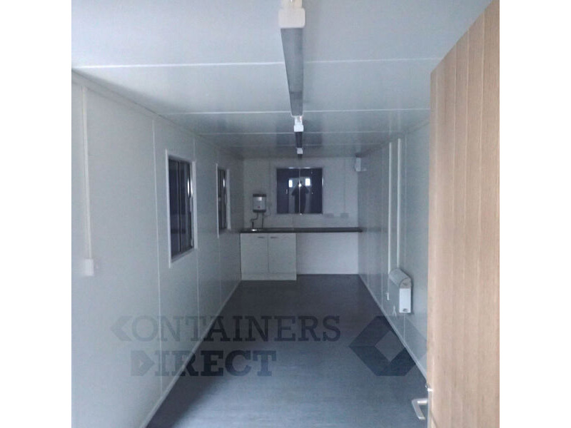 Shipping Container Conversions 32ft canteen and drying room click to zoom image