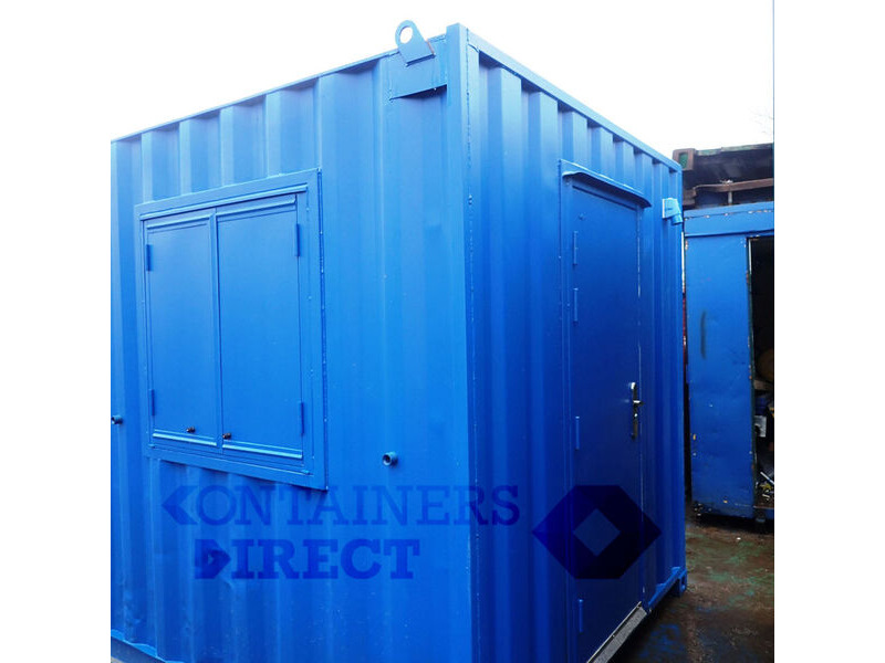 Shipping Container Conversions 24ft open plan office click to zoom image