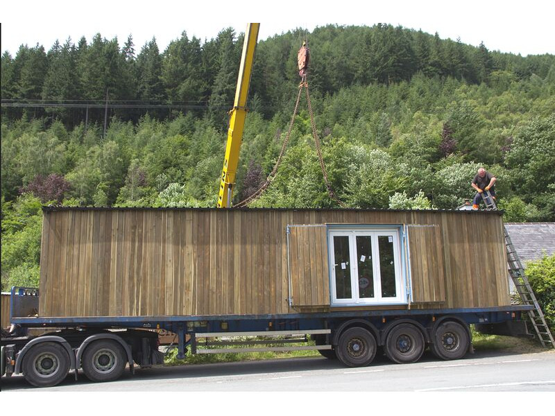 Shipping Container Conversions 40ft garden centre shop click to zoom image