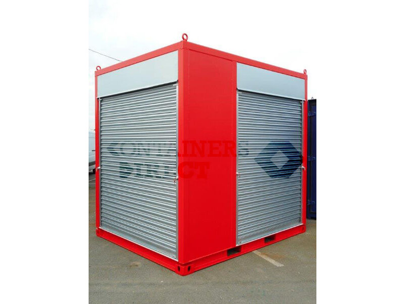 Shipping Container Conversions 10ft exhibition stand click to zoom image
