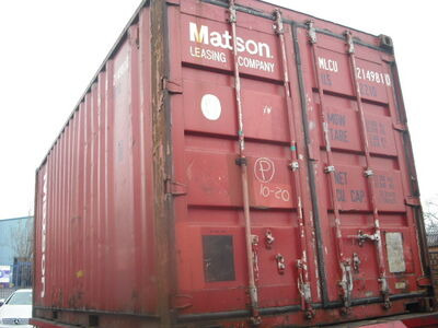 SHIPPING CONTAINERS 20ft ISO 46028