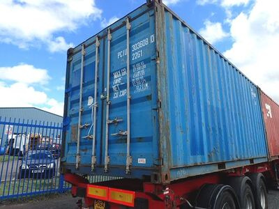 SHIPPING CONTAINERS 20ft ISO 44887