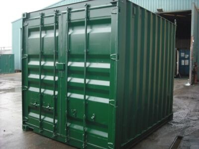 SHIPPING CONTAINERS 10ft ISO green 20399