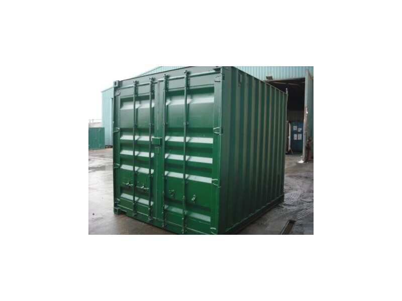 SHIPPING CONTAINERS 10ft ISO green 20399 click to zoom image