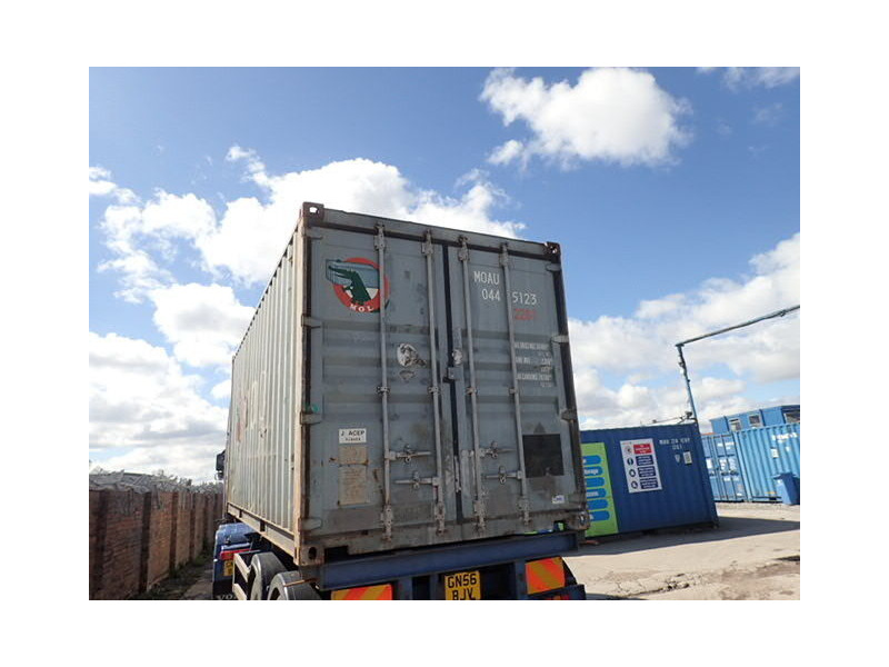 SHIPPING CONTAINERS 20ft ISO MOAU0445123 66174 click to zoom image