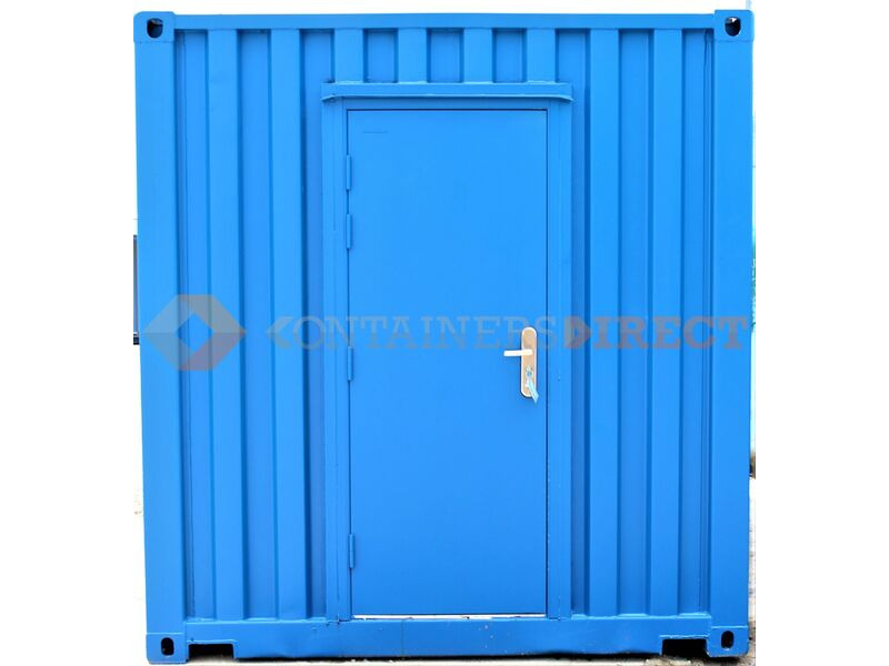 SHIPPING CONTAINERS 20ft with personnel door click to zoom image