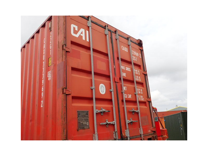 SHIPPING CONTAINERS 20ft ISO 42146 click to zoom image