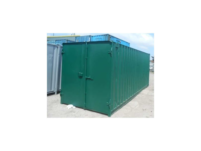 SHIPPING CONTAINERS 20ft S1 doors 45195 click to zoom image