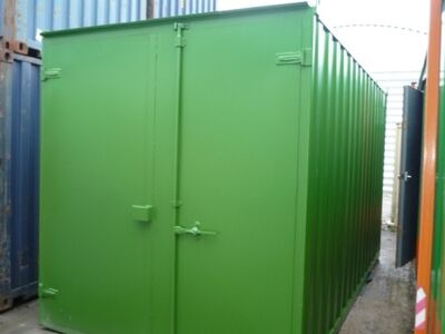 SHIPPING CONTAINERS 15ft S1 doors 37200