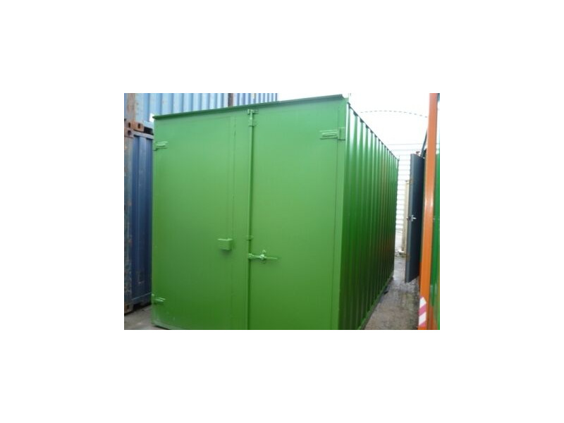 SHIPPING CONTAINERS 15ft S1 doors 37200 click to zoom image