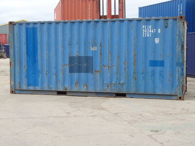 SHIPPING CONTAINERS 20ft S2 67748 click to zoom image