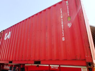 SHIPPING CONTAINERS 20ft ISO 44891