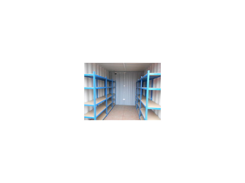 SHIPPING CONTAINERS 20ft S2 with grafotherm, shelving and electrics click to zoom image