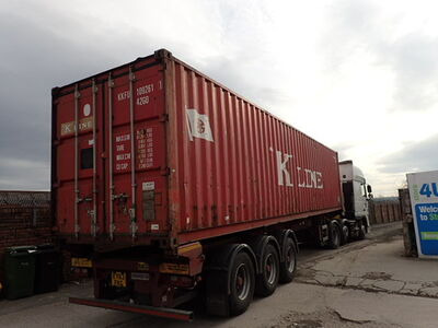 SHIPPING CONTAINERS 30ft Container S2 Doors 65634 click to zoom image