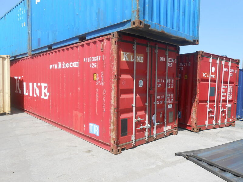 SHIPPING CONTAINERS 40ft ISO 29167 click to zoom image