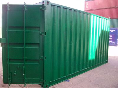 SHIPPING CONTAINERS 16ft S2 doors 33439