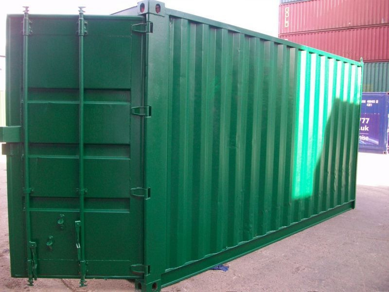 SHIPPING CONTAINERS 16ft S2 doors 33896 click to zoom image