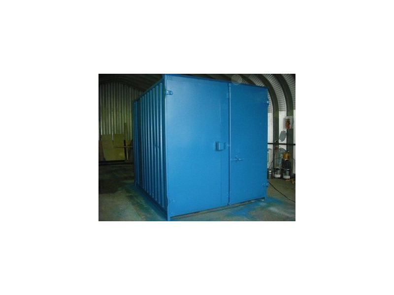 SHIPPING CONTAINERS 10ft S1 doors 29955 click to zoom image
