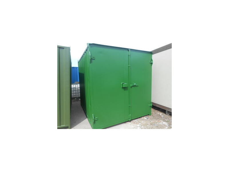 SHIPPING CONTAINERS 10ft Flat panel doors 32288 click to zoom image