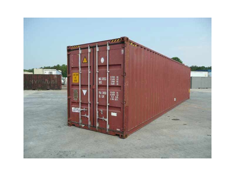 SHIPPING CONTAINERS 40ft high cube 65420 click to zoom image