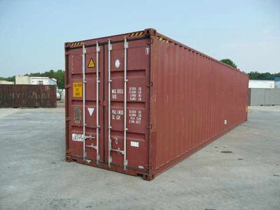 SHIPPING CONTAINERS 40ft high cube 66677