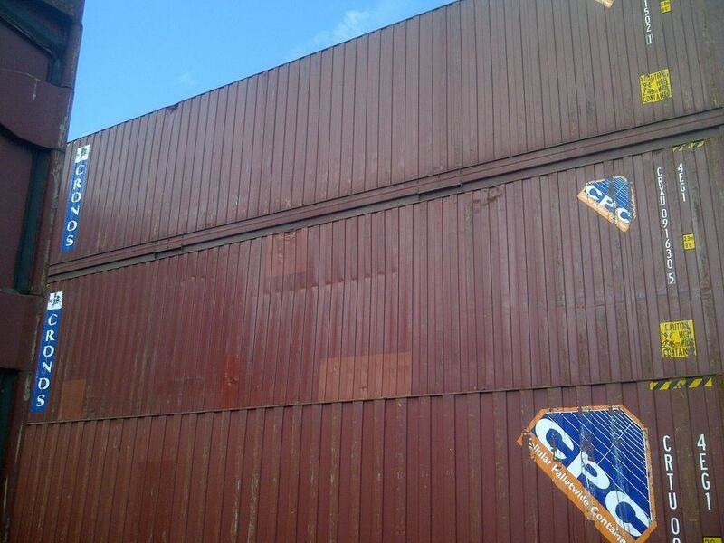 SHIPPING CONTAINERS 40ft high cube 66479 click to zoom image