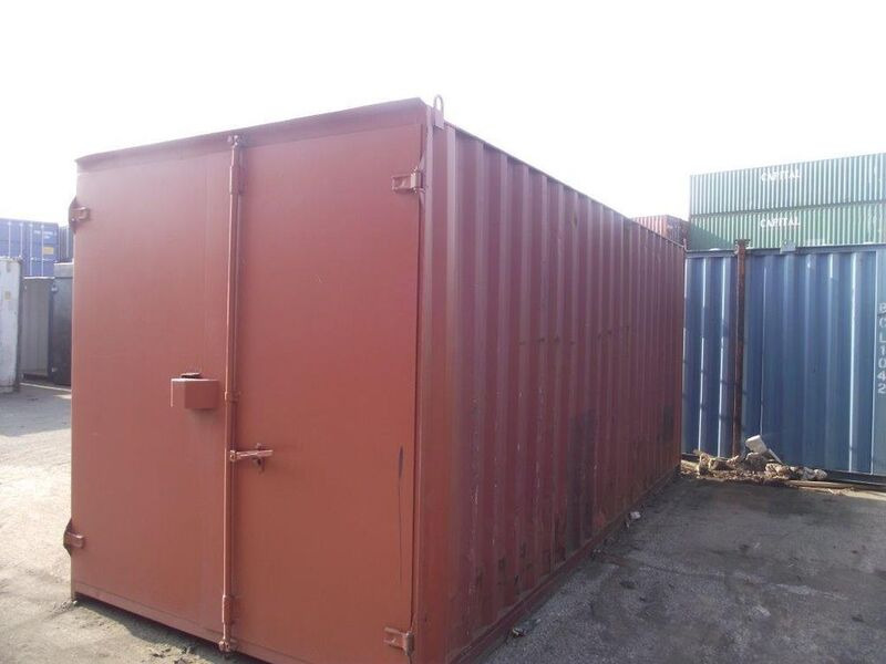 SHIPPING CONTAINERS 15ft S1 doors 60366 click to zoom image