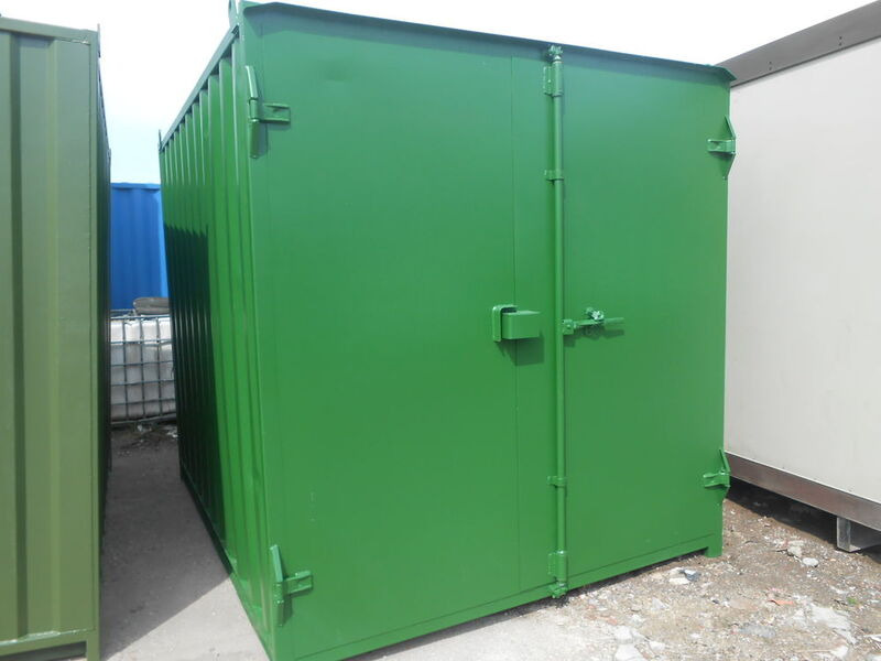 SHIPPING CONTAINERS 16ft S1 doors 65483 click to zoom image