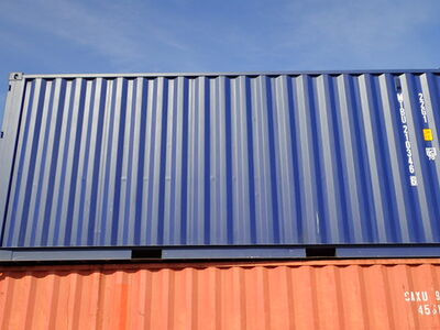 SHIPPING CONTAINERS 20ft ISO blue MTBU2103466 click to zoom image