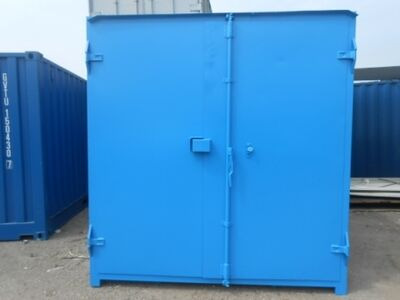 SHIPPING CONTAINERS 15ft S1 doors 65172