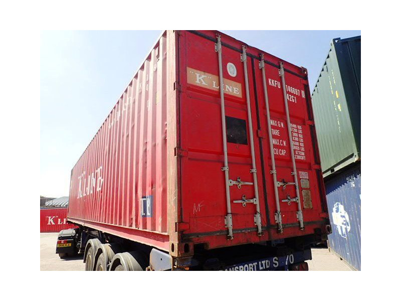 SHIPPING CONTAINERS 40ft ISO 45277 click to zoom image
