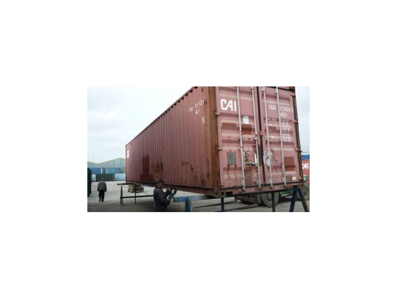SHIPPING CONTAINERS 40ft ISO 24362 click to zoom image