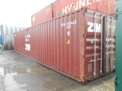 SHIPPING CONTAINERS 40ft ISO 44104