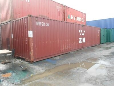 SHIPPING CONTAINERS 40ft ISO 44609