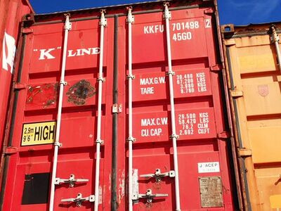 SHIPPING CONTAINERS 40ft ISO 42768