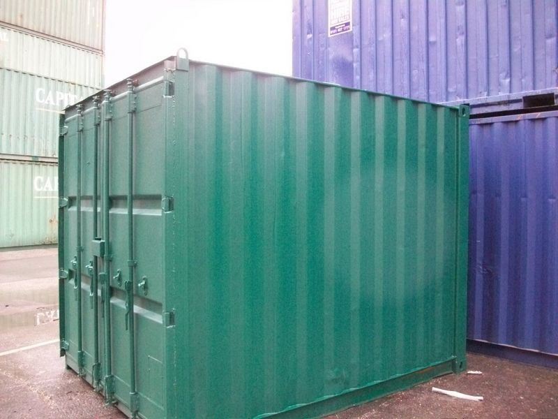 SHIPPING CONTAINERS 10ft S2 doors 45761 click to zoom image