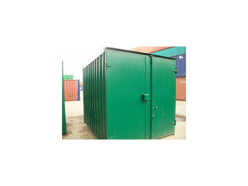 SHIPPING CONTAINERS 10ft S1 doors 64517 click to zoom image