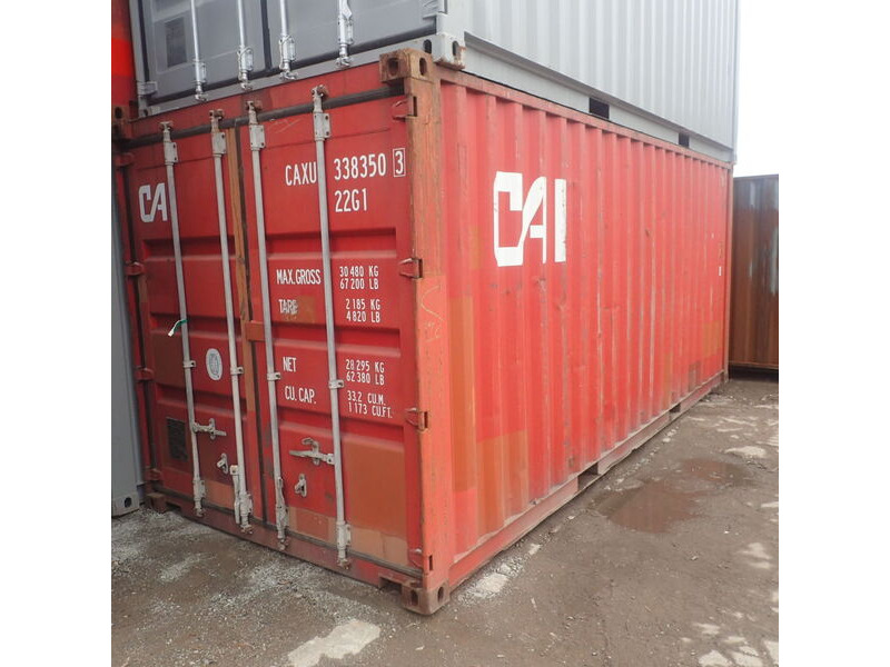 SHIPPING CONTAINERS 20ft 65257 click to zoom image