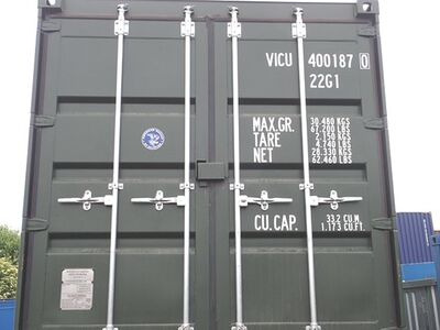 SHIPPING CONTAINERS 20ft ISO green VICU4001870