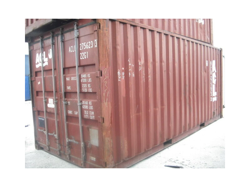 SHIPPING CONTAINERS 20ft ISO 31047 click to zoom image