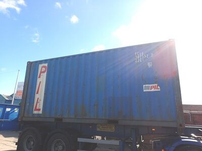 SHIPPING CONTAINERS 20ft ISO PCIU3025527