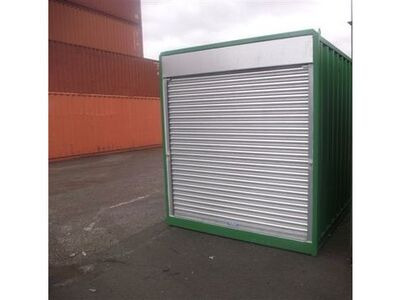 SHIPPING CONTAINERS 10ft S4 Roller Shutter Doors & Electrics