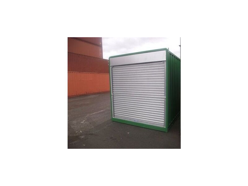 SHIPPING CONTAINERS 10ft S4 Roller Shutter Doors & Electrics click to zoom image