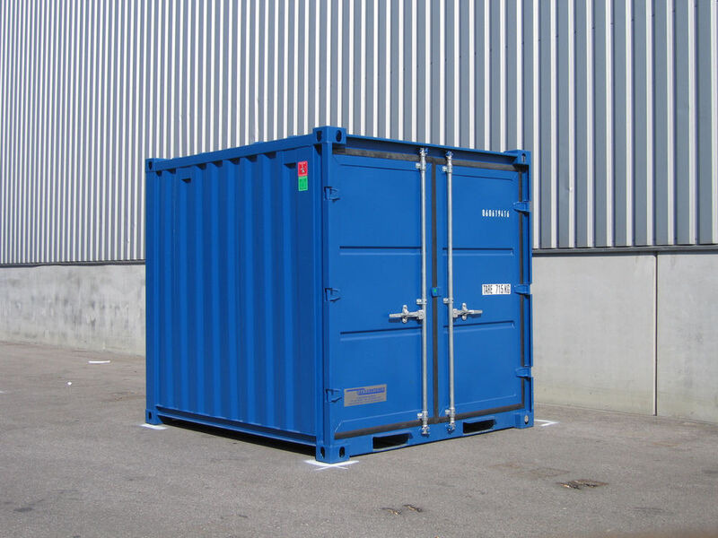 SHIPPING CONTAINERS 6ft steel store CX06 Widnes click to zoom image