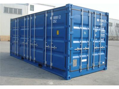 SHIPPING CONTAINERS 20ft full side access blue 66177