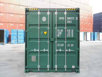 SHIPPING CONTAINERS 15ft high cube - S2 Doors
