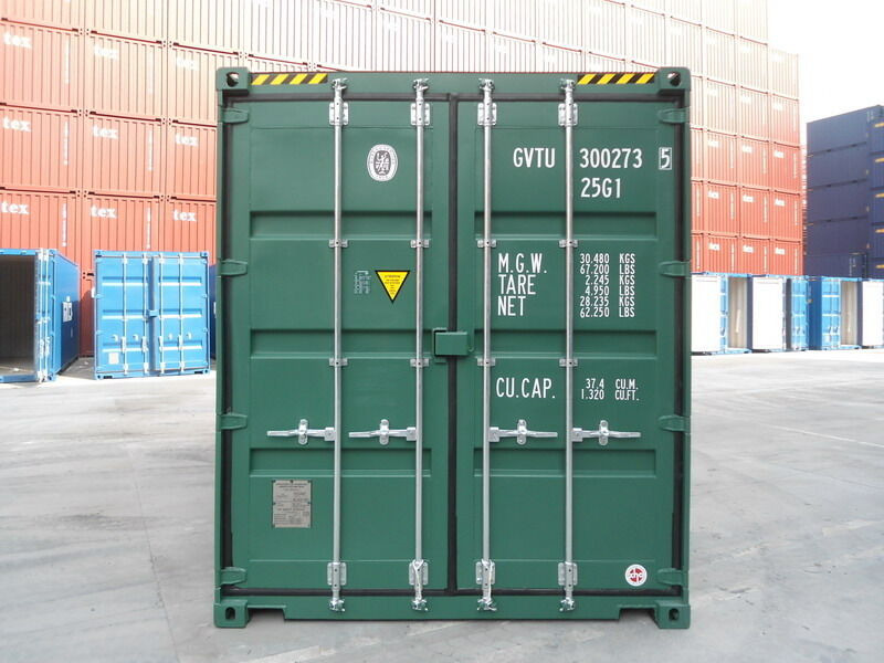 SHIPPING CONTAINERS 15ft high cube S2 23066 click to zoom image