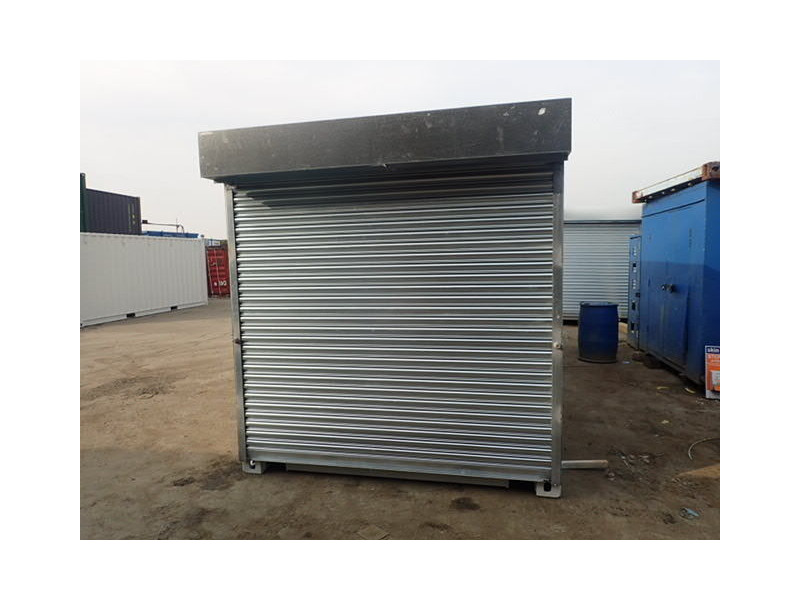 SHIPPING CONTAINERS 8ft S4 roller shutter door click to zoom image