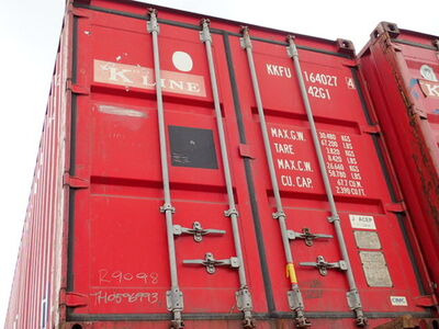 SHIPPING CONTAINERS 40ft Original doors 45713