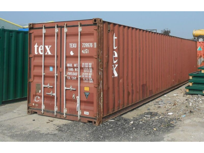 SHIPPING CONTAINERS 40ft original container 24794 click to zoom image